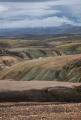 Green ridges, Landmannalaugur