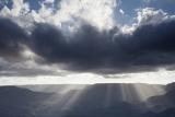 Stormclouds over Narrow Neck