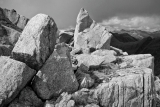 Granite outcrops, Fiordland
