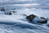 Ice forms to Mount Kosciuszko