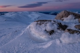 Dusk on Kosciuszko summit