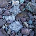 Stone arrangement, Nadgee Nature Reserve