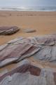 Exhumed sandstone