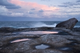 Rock pools, evening