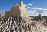 Walls of China erosion, Mungo National Park