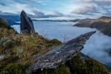 Rocks above Clarke River