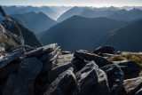 South-west from Mount Nantes, Fiordland