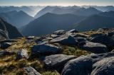 Late afternoon, Mount Nantes, Fiordland
