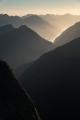 Wet Jacket Arm, evening, Fiordland