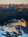 Merrie Range from Mount Nantes, Fiordland
