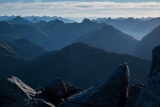 In the Matterhorn Mountains, Fiordland