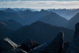 In the Matterhorn Mountains, Fiordland