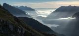West Arm morning, Fiordland