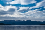 Cloud swarm, Lake Manapouri, Fiordland