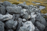 Moraine and tarns, Hunter Mountains