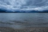 Shoreline and sky, Lake Manapouri