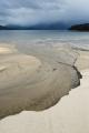 Beach estuary, Lake Manapouri