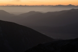 Oreti River valley to Fiordland skyline