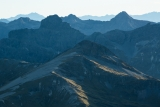 Eyre Mountain peaks