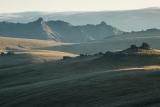 Sunlit spurs, Garvie Mountains