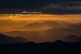 Takitimu Mountains from Garvie Mountains