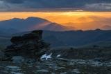 Garvie Mountains sunburst