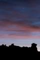Sky over pinnacles, Garvie Mountains