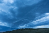 Wind cloud, Garvie Mountains