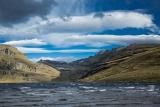 Choppy waters, Blue Lake, Garvie Mountains