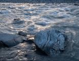 Evening light, Landsborough River rapids