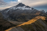 Mount Hooker, sunset