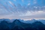 Main Divide peaks at dawn
