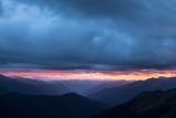 Last light, Landsborough valley