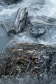 Crumpled schist