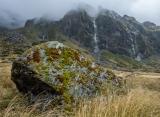 Mossy boulder, Marks Flat
