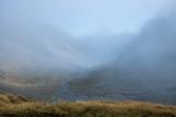 Fog, Mackenzie Creek cirque