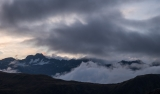 Clouds over Main Divide