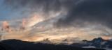 Dawn, Mounts Ward and Jackson