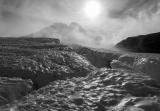 Crevasses, Hooker Glacier