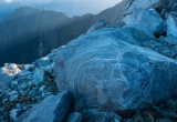 Gneiss rock, Mount Pembroke, Darran Mountians