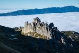 Granite crags, Mount Titiroa, Fiordland