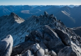 Mount Titiroa summit ridge, Fiordland