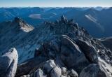 Mount Titiroa summit ridge, Fiordland