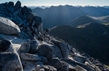 Evening on Mount Titiroa, Fiordland