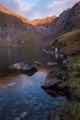 Lake at dawn, Hunter Mountains,