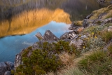 Lakeshore, Hunter Mountains, Fiordland