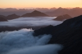 South from the Hunter Mountains, Fiordland