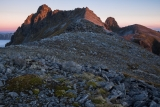 Central peaks, Hunter Mountains, Fiordland