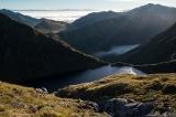 To Mount Titiroa, Hunter Mountains, Fiordland
