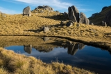 Tarns and tors, Mount Titiroa, Fiordland